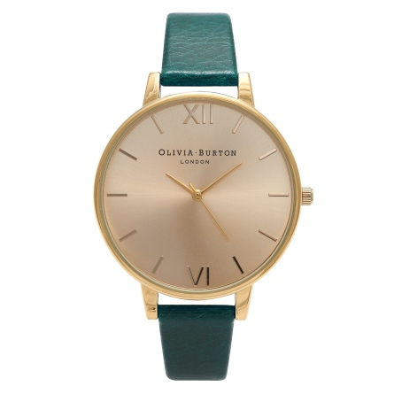 OB14BD41 Big Dial Forest Green and Gold RRP �75